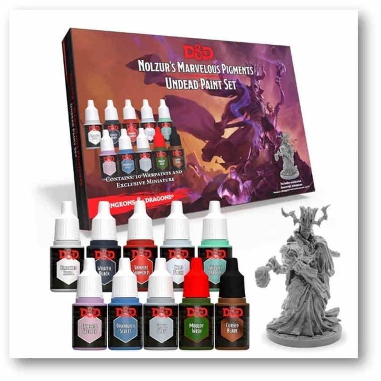 D&D Adventurer's Paint Set Nolzur's Marvelous Pigments Undead