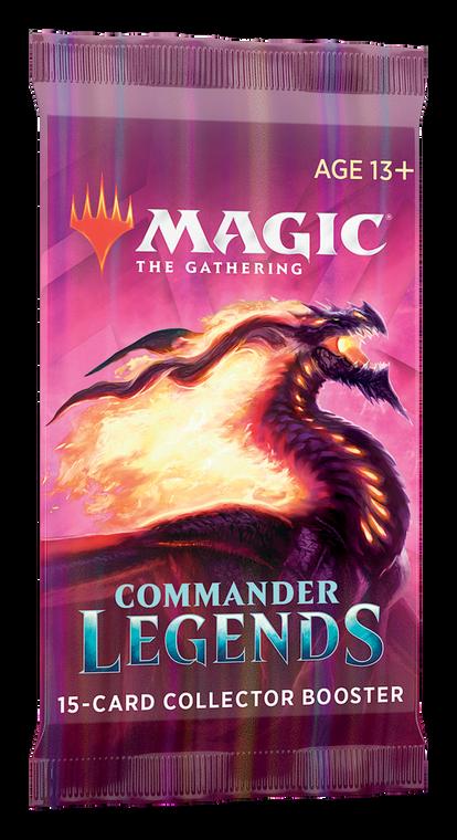 Commander Legends Collector's Booster Pack