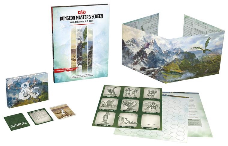 DM Screen Wilderness Kit D&D 5E