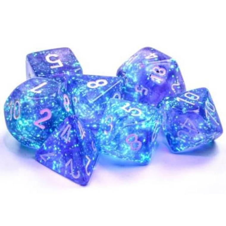 CHX Polyhedral Borealis Purple w/ White 27577