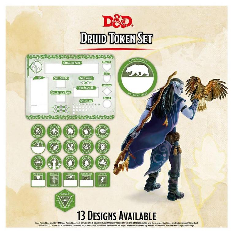 D&D Token Set Druid
