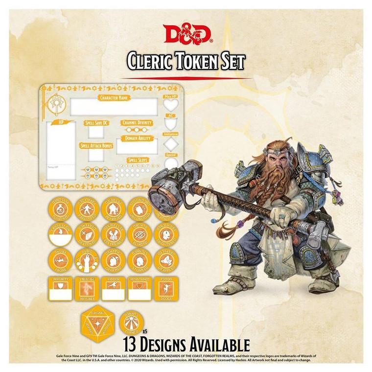 D&D Token Set Cleric
