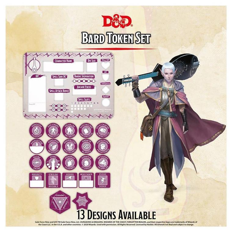 D&D Token Set Bard