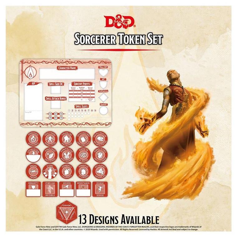 D&D Token Set Sorcerer
