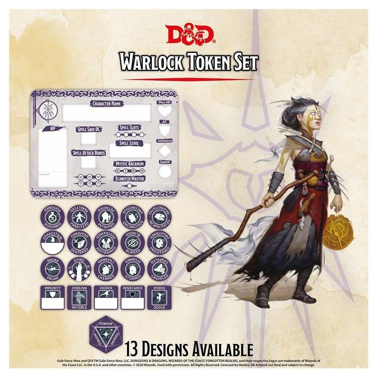 D&D Token Set Warlock