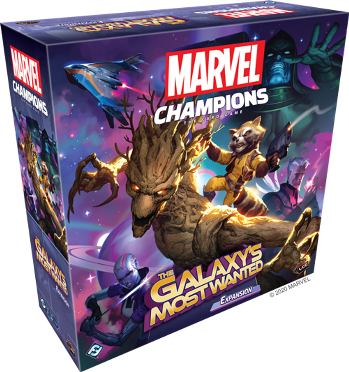 *Pre-Order* Marvel Champions LCG: The Galaxy's Most Wanted