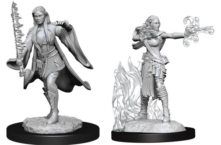 Unpainted PC Human Multiclass Warlock-Sorcerer Female NM 90149