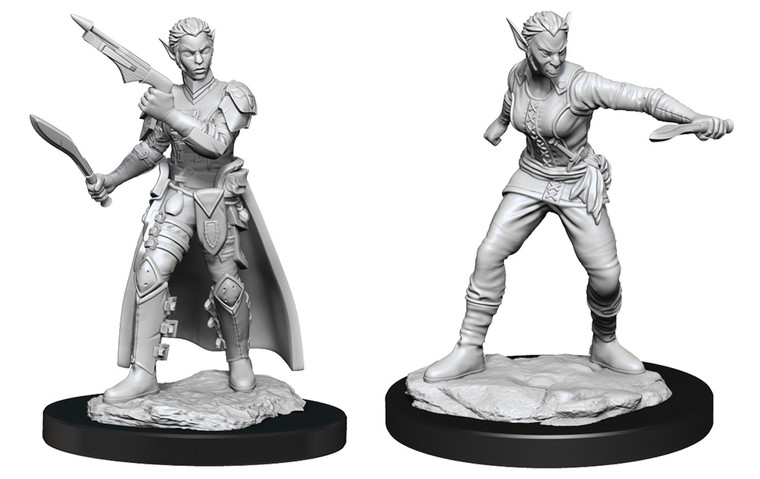 Unpainted PC Shifter Rogue Female NM 90148