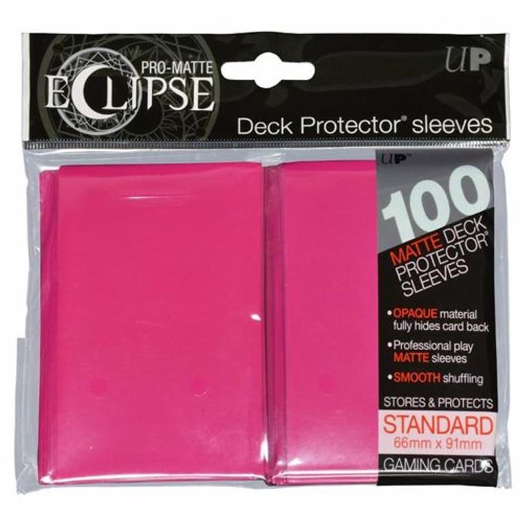 100ct Pro-Matte Pink Eclipse Deck Protectors