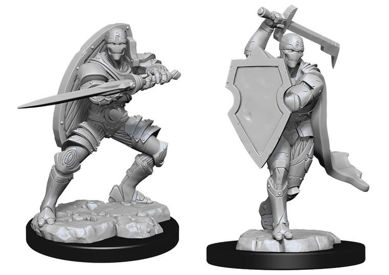Unpainted PC Warforged Fighter Male NM 90147