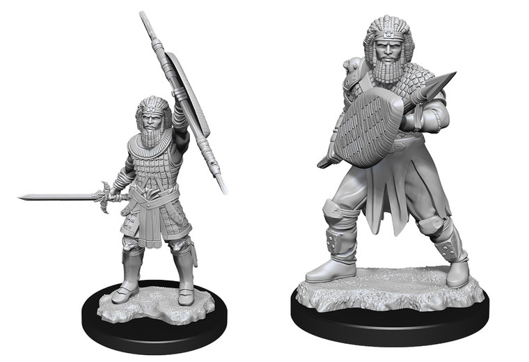 Unpainted PC Human Fighter Male NM 90144