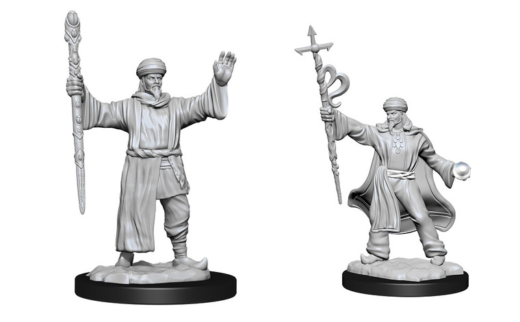 Unpainted PC Human Wizard Male NM 90137