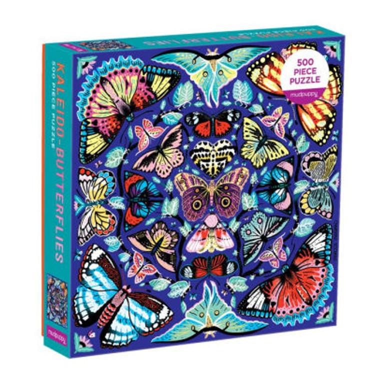500 pc Kaleido-Butterflies