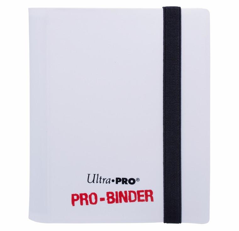 2 Pocket 80ct Pro-Binder White