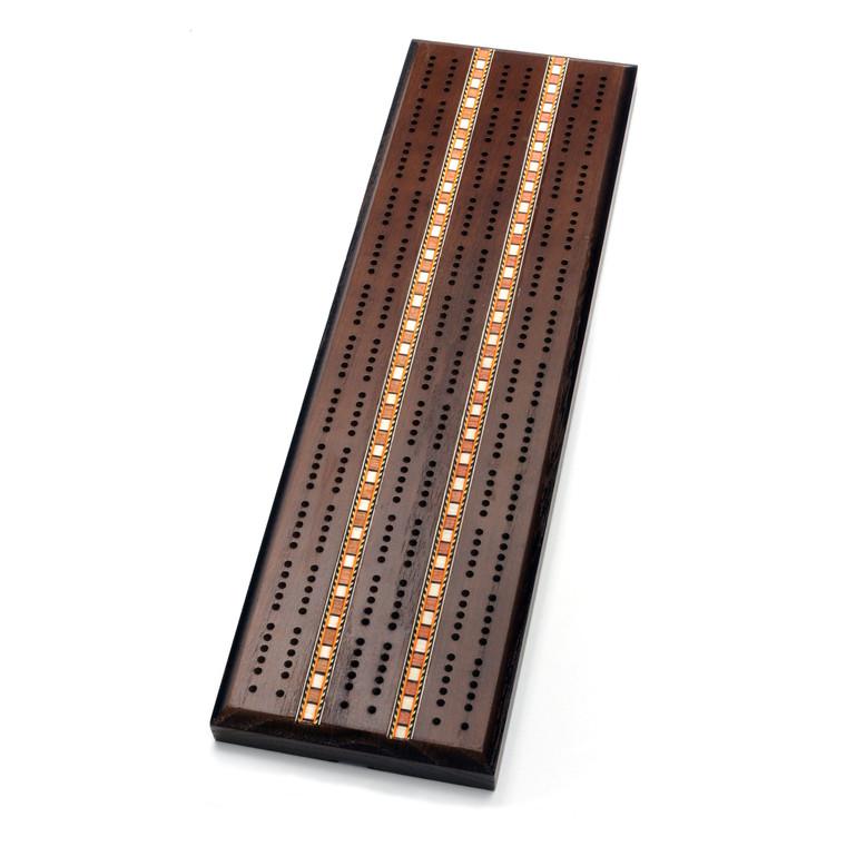 Cribbage 2-Track Dark Solid Oak Sprint