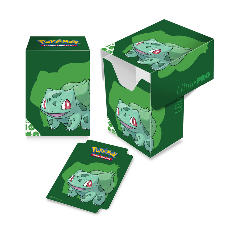 Deck Box 80+ Pokemon Bulbasaur