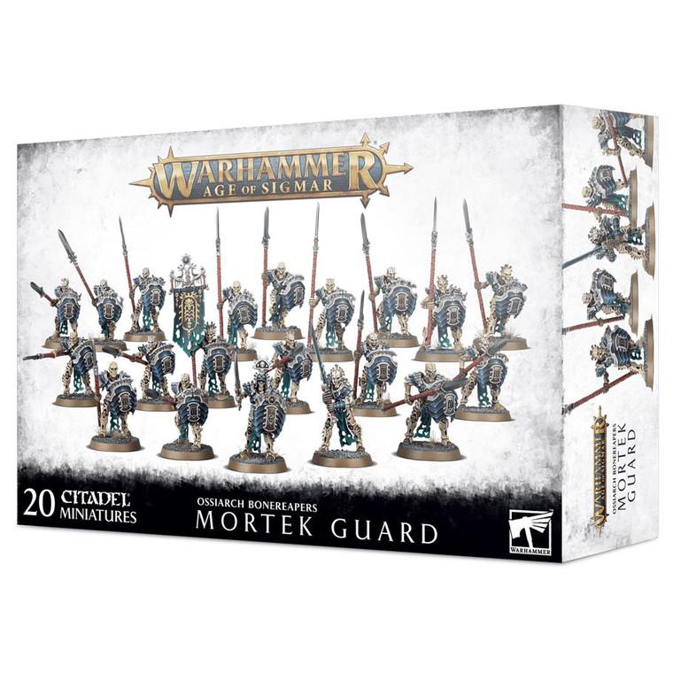 Warhammer Age of Sigmar Ossiarch Bonereapers Mortek Guard