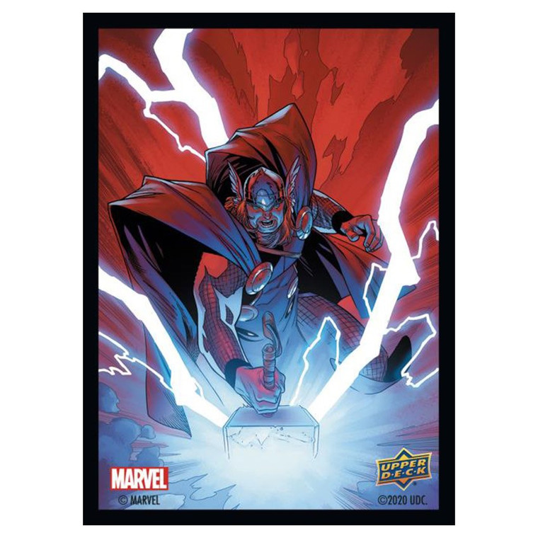 66mm x 91mm 65ct Marvel Thor Matte Sleeves