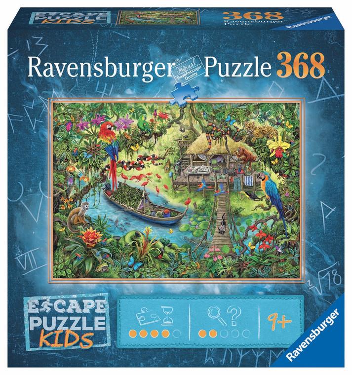 368 Pc Escape Puzzle Kids Jungle Journey