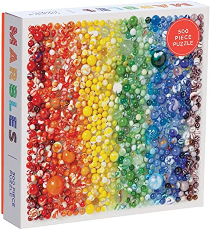 500 Pc Rainbow Marbles