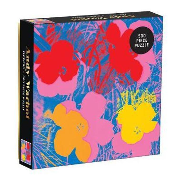 500 Pc Warhol, Andy: Flowers