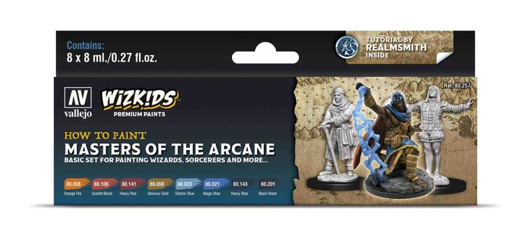 How To Paint Masters of the Arcane - Vallejo Wizkids Premium Paint Set