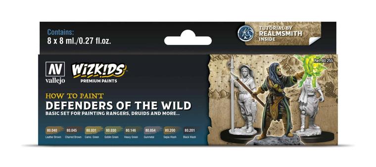 How To Paint Defenders of the Wild - Vallejo Wizkids Premium Paint Set