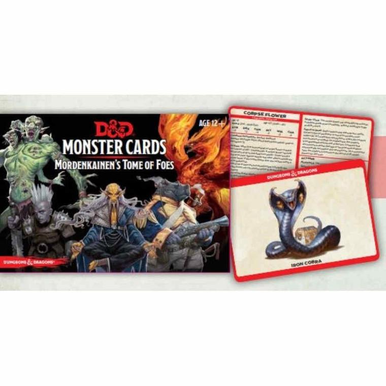 D&D 5E Monster Cards Mordenkainen's Tome of Foes