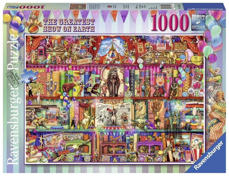 1000 Pc The Greatest Show on Earth