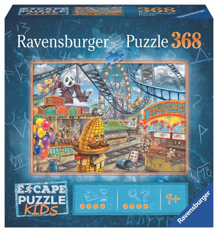 368 Pc Escape Puzzle Kids Amusement Park Plight