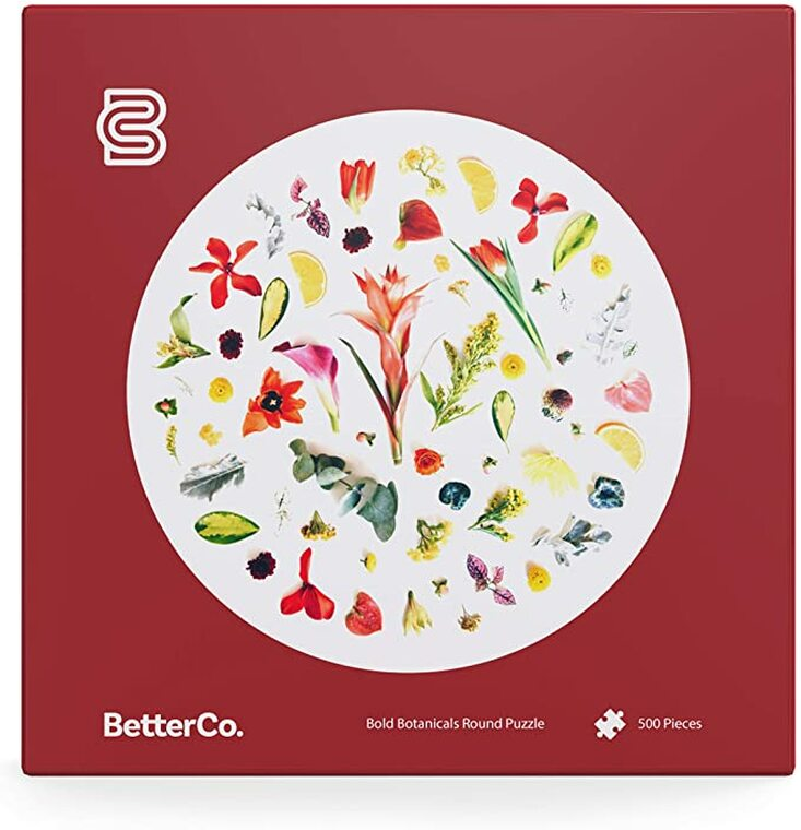 "500 Pc Bold Botanicals 26.5"" Round"