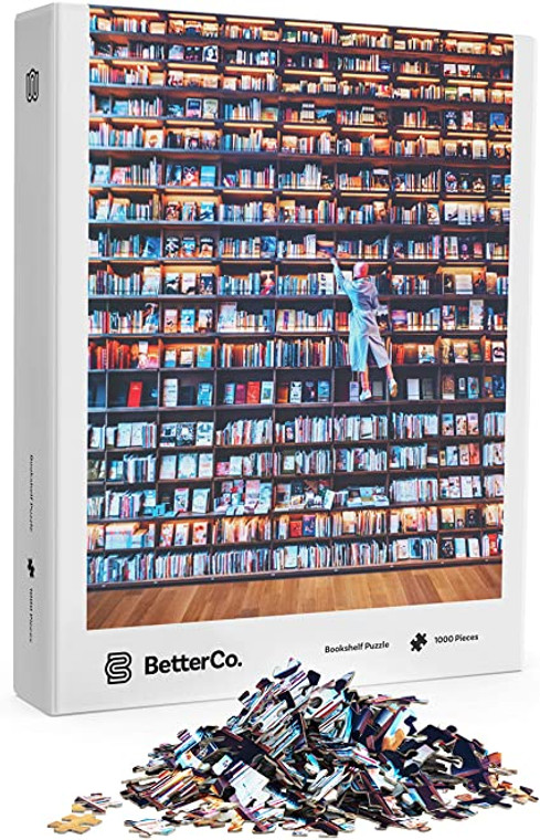 1000 Pc Bookshelf