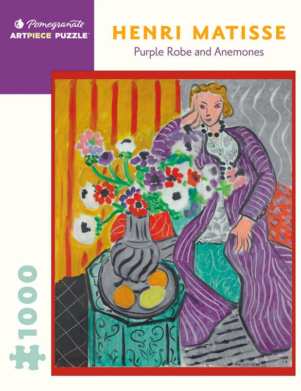 1000 Pc Matisse, Henri: Purple Robes and Anemones