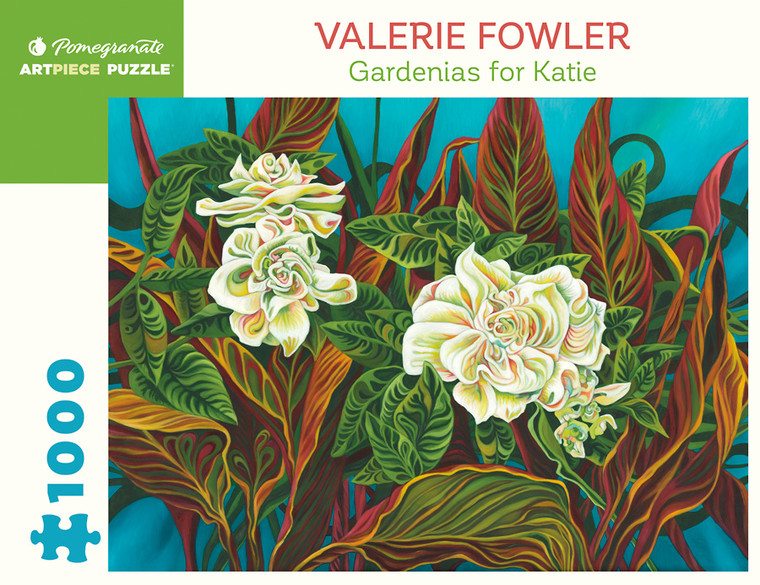 1000 Pc Fower, Valerie: Gerdenias for Katie