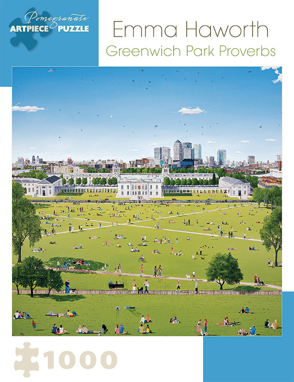 1000 Pc Haworth, Emma: Greenwich Park Proverbs