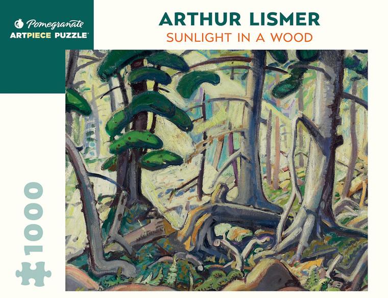 1000 Pc Lismer, Arthur: Sunlight in a Wood