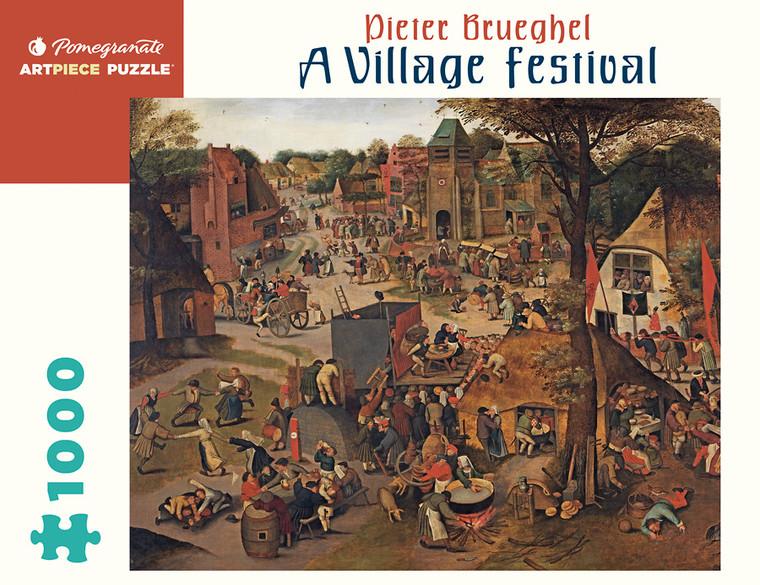 1000 Pc Brueghel, Pieter: A Village Festival