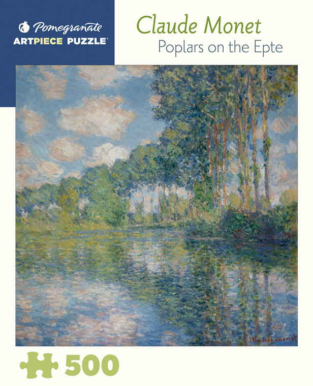 500 Pc Monet, Claude: Poplars on the Epte