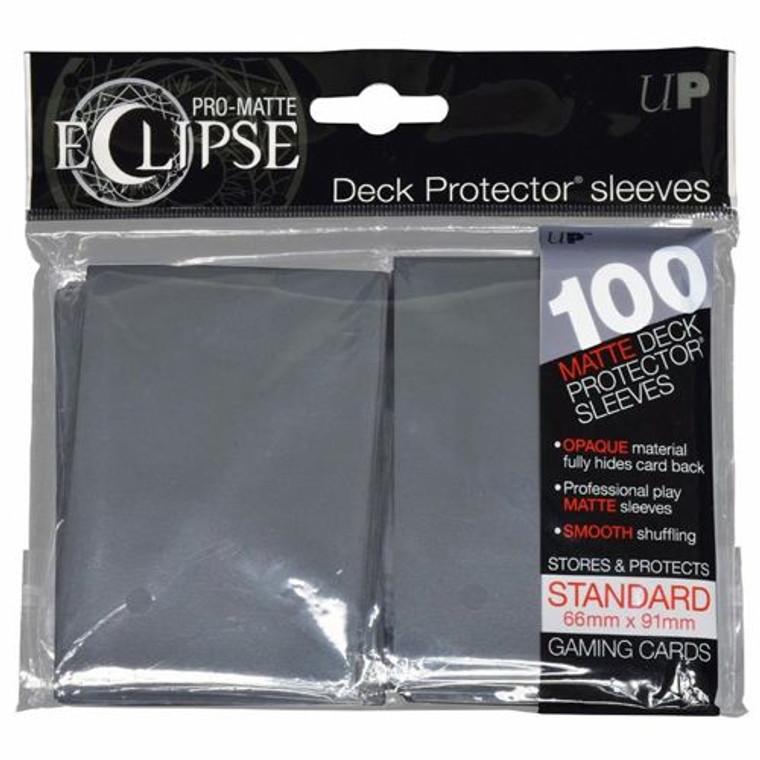 100ct Pro-Matte Gray Eclipse Deck Protectors