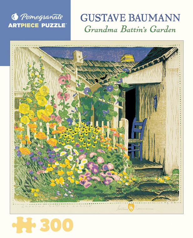 300 Pc Baumann, Gustave: Grandma Battin's Garden