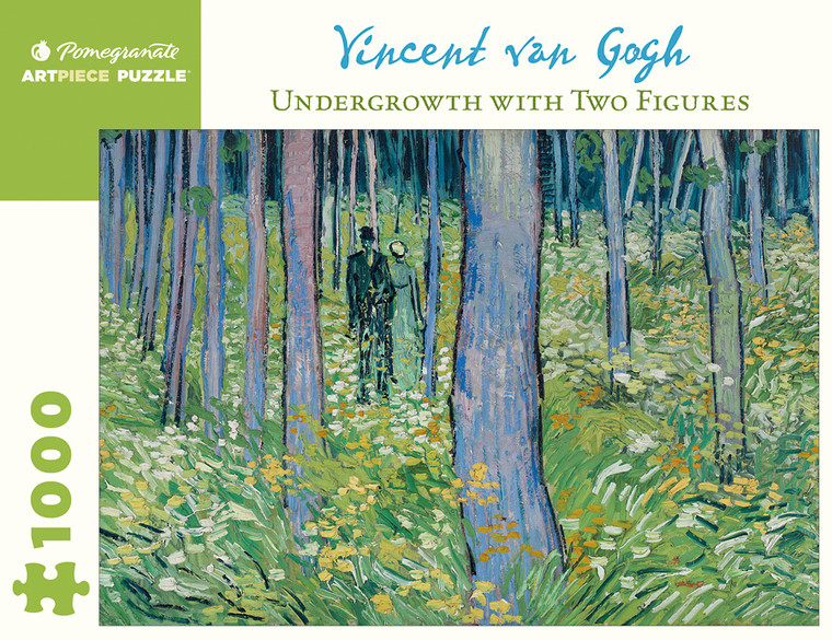 1000 Pc Van Gogh, Vincent: Undergrowth with Two Figures