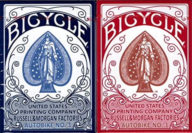 Playing Cards Bicycle Autobike