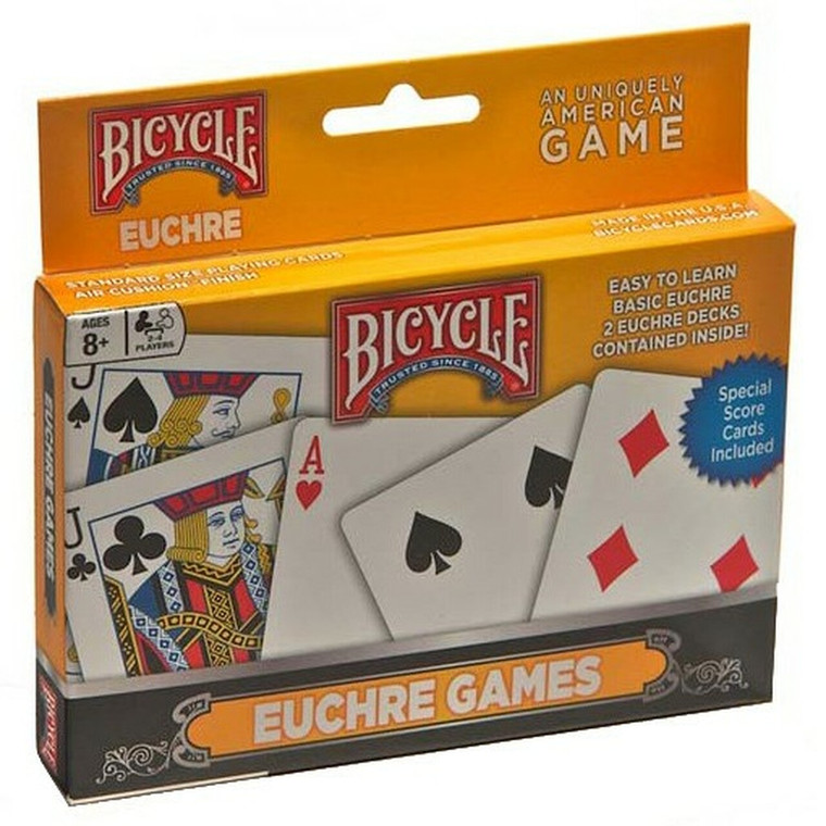 Playing Cards Bicycle Euchre