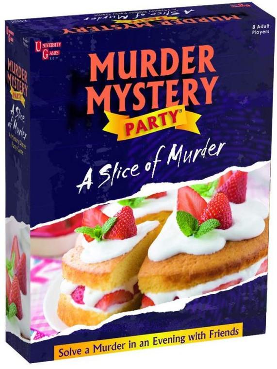 Murder Mystery Party Slice of Murder