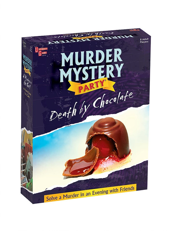 Murder Mystery Party Death by Chocolate