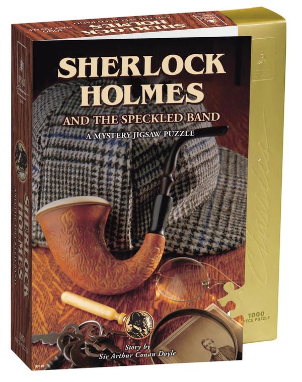 1000 Pc Murder Mystery Puzzle Sherlock Holmes