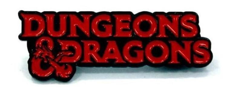 Enamel Pin D&D Dungeons & Dragons Logo