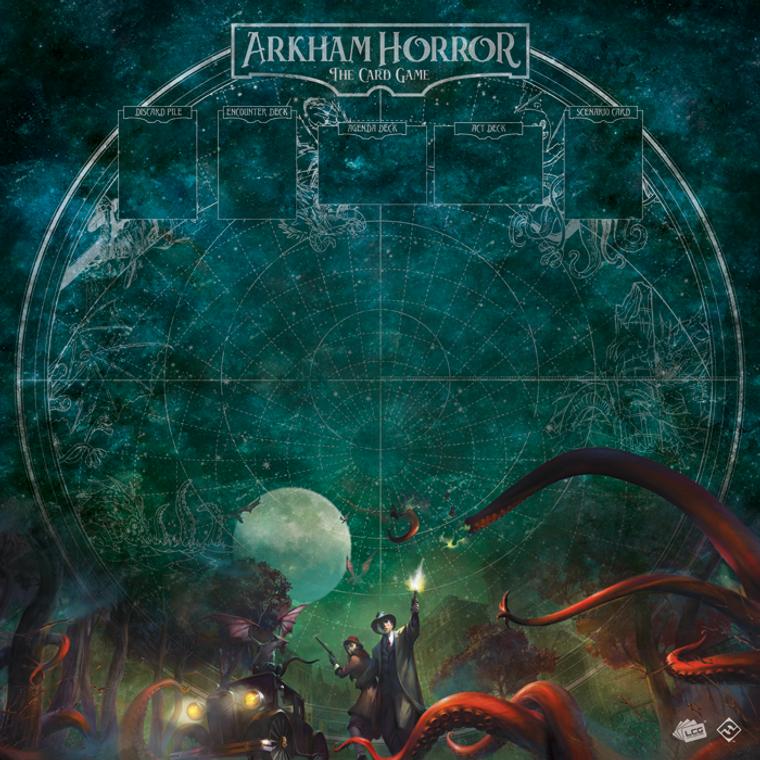 Arkham Horror 1-4 Player Gamemat: Countless Terrors