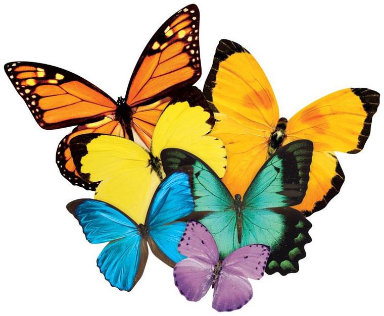 524 Pc Butterflies (Shaped)
