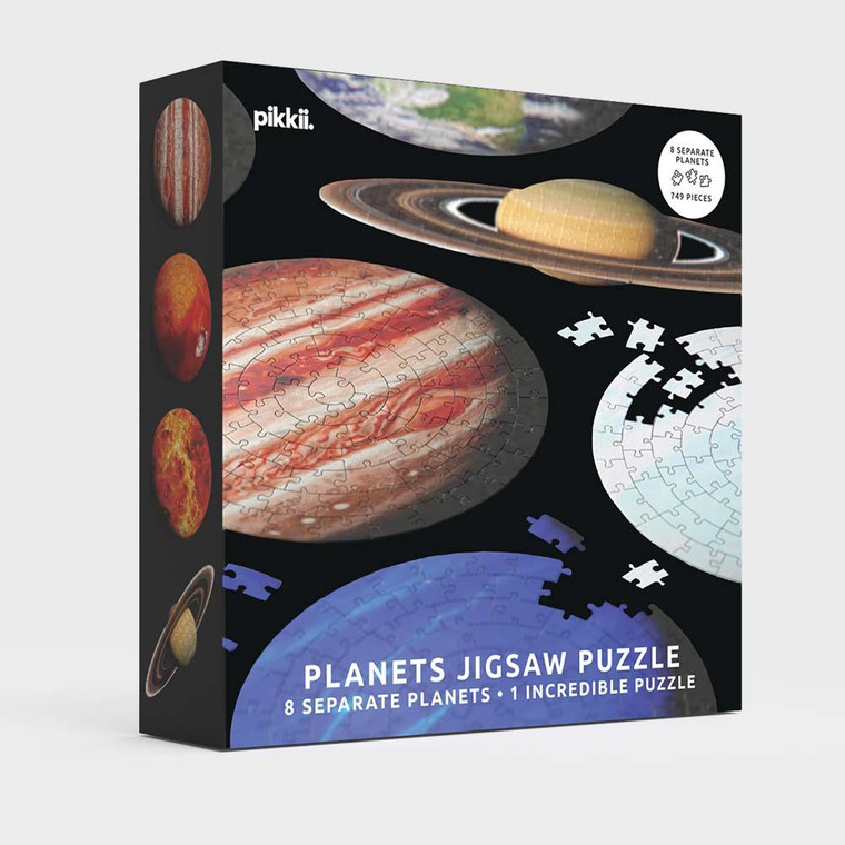 744 Pc Planets Jigsaw Puzzle - 8 Separate Planets